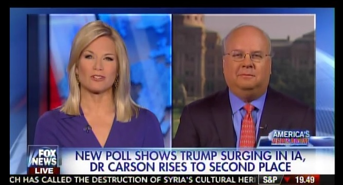 "Karl Rove Bashes Trump: ""Summer of Silliness"" Will Be Followed by ""Fall of Silliness"" (VIDEO)"