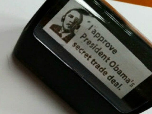 rubber stamp obama