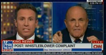 Fireworks! Rudy Giuliani BLASTS Chris Cuomo for CNN's Refusal to Cover MASSIVE BIDEN FAMILY UKRAINIAN SCANDAL (VIDEO)