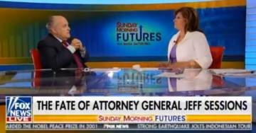 "Rudy Giuliani: The Only Payment from Trump I Want Is ""To Get to Depose John Brennan One of the Biggest Frauds in History"" (VIDEO)"