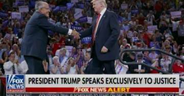 """""""They Should Be Looking at People Doing Real Harm to This Country"""" – President Trump """"Unquestionably"""" Stands Behind Rudy Giuliani"""