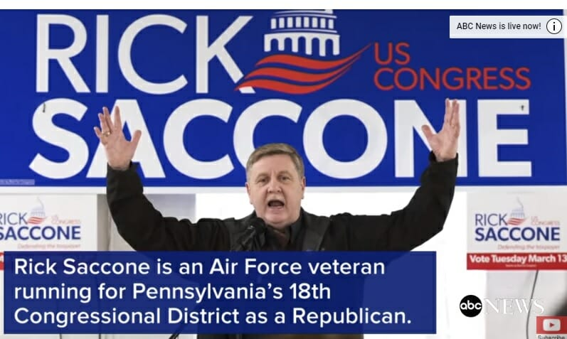 photo image LIVE UPDATES=> PA 18th Congressional District Special Election – Democrat Lamb leads Saccone by 2%