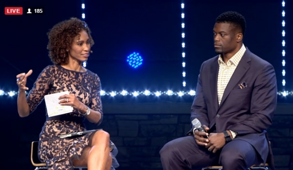 ESPN Anchor Sage Steele says Worst Racism she Receives Comes From BLACK People