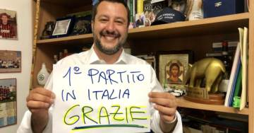 NATIONALISTS WIN: Salvini from Italy, Le Pen from France. Farage in UK, Tarczynski in Poland Smash Globalist Elites in EU Elections