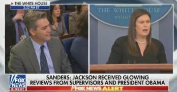 Ouch! Sarah Huckabee Sanders Chews Up CNN's Jim Acosta – Spits Him Out (VIDEO)