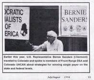 sanders socialist convention