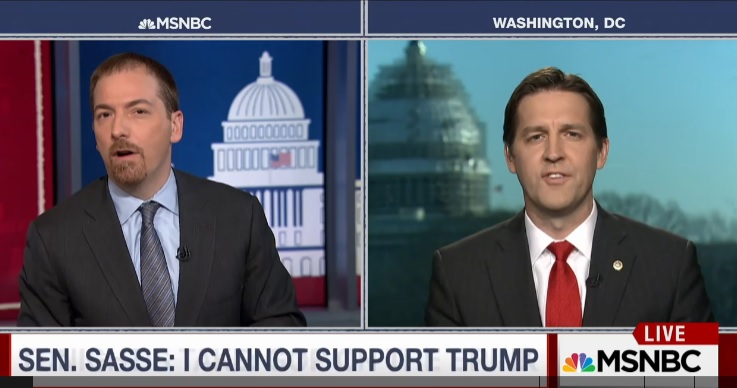 """AWFUL. GOP Senator Sasse: This is Party of Lincoln """"Not David Duke and Donald Trump"""" (VIDEO)"""
