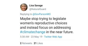 SICK: Unhinged Leftists Mock Tornado-Ravaged Missouri After State Passes Strict Abortion Rules