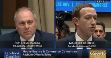 Rep. Steve Scalise Grills Facebook CEO on Censoring of Conservatives – Refers to Western Journal Study