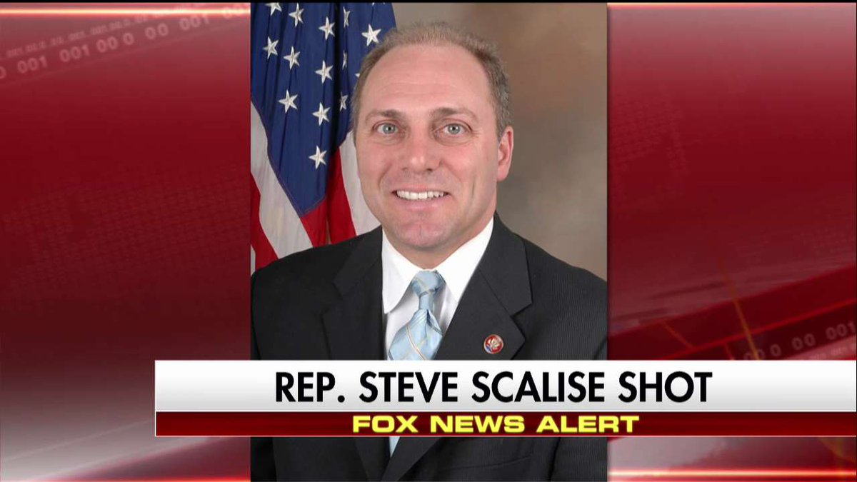 """BREAKING: House Majority Whip Steve Scalise and Aides SHOT, Shooter Asked, """"Are Those Republicans or Democrats?"""""""