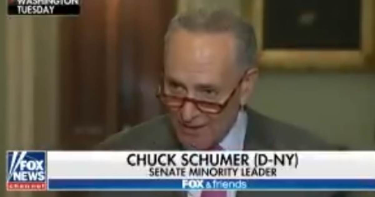 """Schumer Blasts McConnell Senate Impeachment Trial Rules as """"National Disgrace"""" and """"Cover-Up"""""""