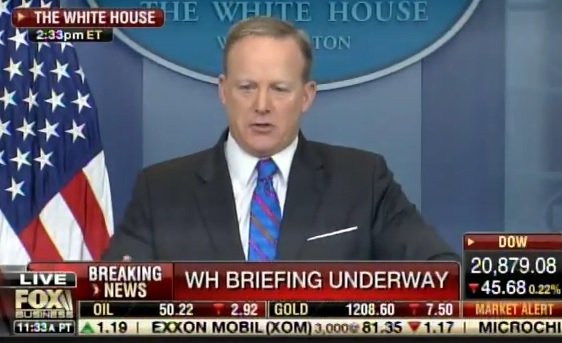 Reporter Asks Sean Spicer If Trump Will Donate His Salary,  Here's What Sean Says Next