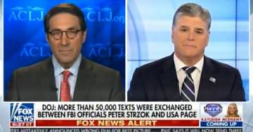 Trump Attorney: Strzok-Page Text Messages Show Comey Lied Under Oath – Committed a Felony (VIDEO)