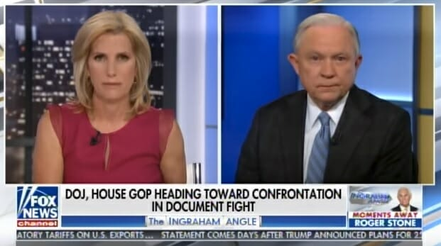 What a Disgrace! AWOL Sessions Says He Will Let Rosenstein Continue to Oversee Mueller Witch Hunt Despite Conflicts (VIDEO)