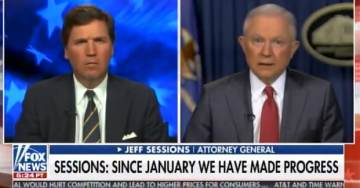 "AWOL AG Jeff Sessions: ""I'm Confident"" Deputy AG Rosenstein Did Not Threaten Members of Congress (VIDEO)"