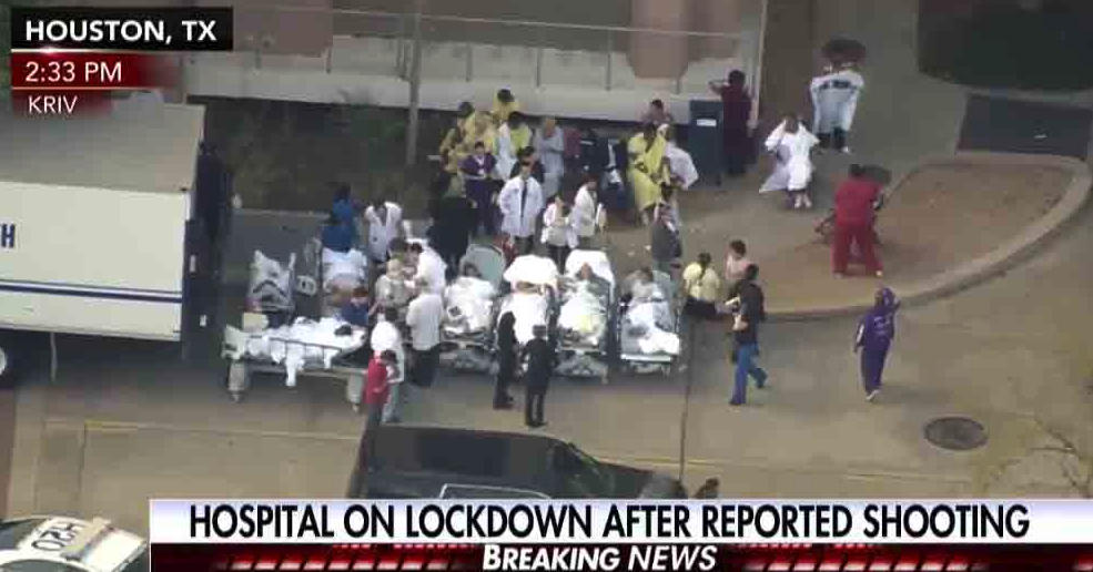 Houston Hospital On Lock Down After Reports Of Shooting (VIDEO)