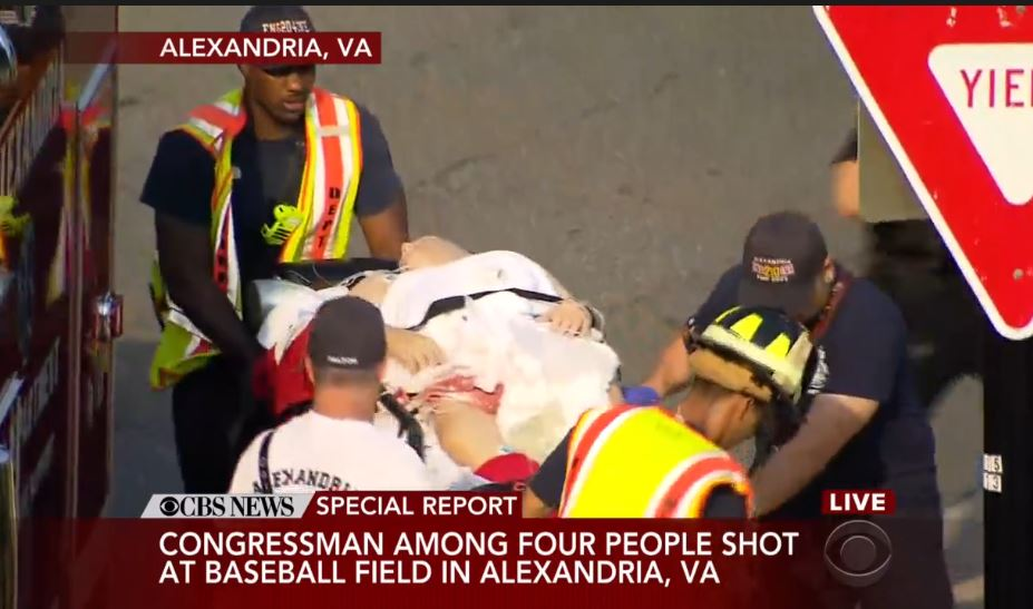 Liberal Hacks Attack GOP Rep. Scalise After Shooting: 'Nothing But Whores and Puppets for NRA'