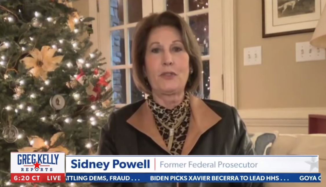 """""""Irrefutable Proof Is Coming Soon – We Are NOT Done"""" – Sidney Powell Responds to Supreme Court Decision to Ignore Election Fraud"""