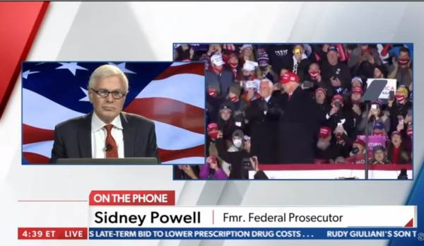 """sidney-powell-trump-stolen-600x348 Sidney Powell: """"We've Got a Number of Smoking Guns, May Have to Get Witness Protection for Them — 7 Million Votes Stolen from Trump! (AUDIO) Featured Politics Top Stories [your]NEWS"""