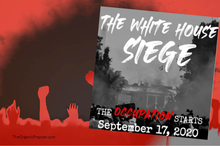 Democrat Supported Marxist Group Plans Siege on White House Starting September 17 for 50 Days Until the 2020 Election