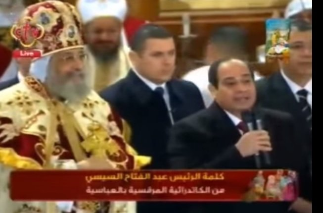 Egypt's al-Sisi Orders Military Protection at All Vital Structures and Churches Following ISIS Bombings