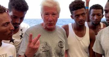 """WATCH: Multi-Millionaire Actor Richard Gere Tells Europe That African Migrants Need To Be """"Taken Care Of"""""""