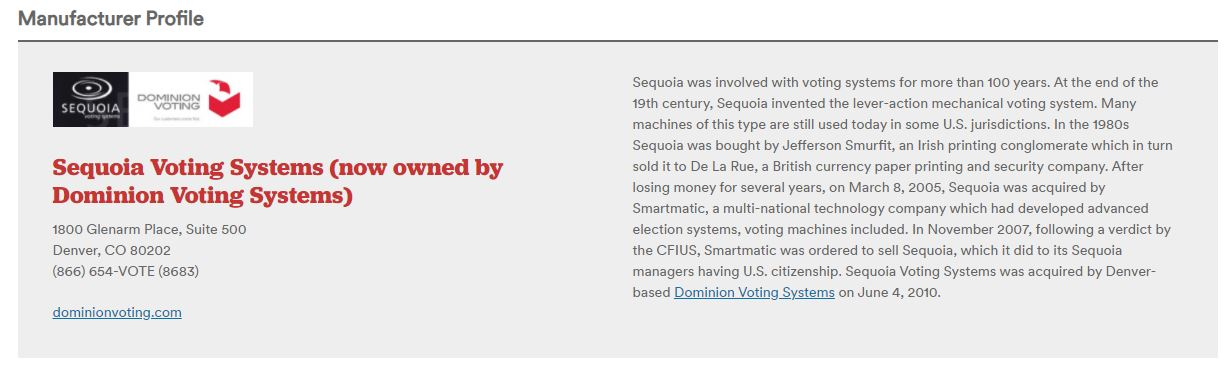 Smartmatic Denies Transfer of Technology to Dominion Voting Systems — Articles Scrubbed from Website — But Internet Archive Never Lies 6
