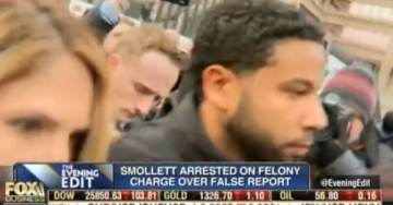 FIRST VIDEO — JUSSIE SMOLLETT PERP WALK from Cook County Court After Posting Bail (VIDEO)