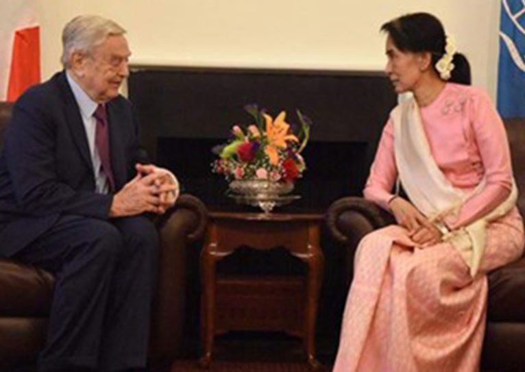 Is Soros Backing Unrest in Myanmar? Military Junta Arrests Open Society Director and Staff