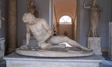 statues nude rome
