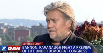 Steve Bannon: Kavanaugh Brawl was a Preview of What Life Under a Democrat Congress Will Look Like (VIDEO)