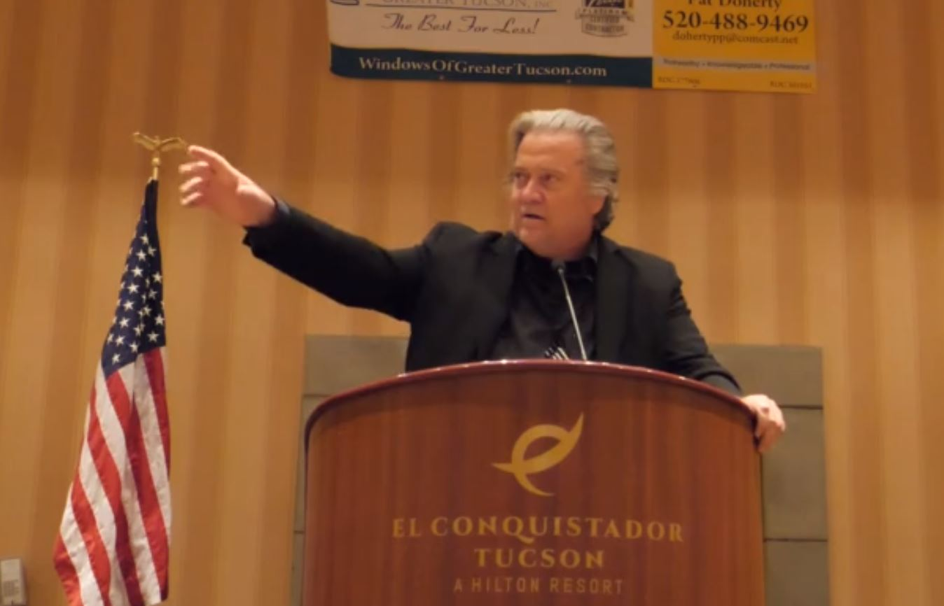 """""""Donald Trump's Victory in 2016 Was Providential… In 2020 Donald Trump Won a Bigger Victory"""" – Steve Bannon Ignites the GOP Crowd in Pima County (VIDEO)"""