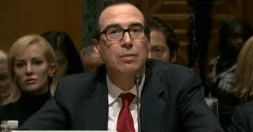 BREAKING: Treasury Secretary Steve Mnuchin Formally Rejects Dem Request For Trump's Tax Returns