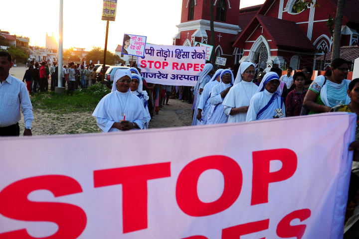 INDIA-RELIGION-RAPE-WOMEN