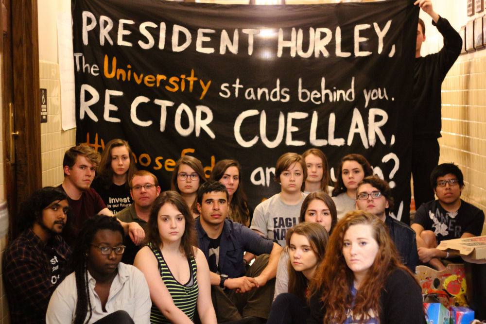 students divest oil