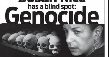 "Jewish Group BLASTS SUSAN RICE In NYT Ad: ""Susan Rice Has Blind Spot: Genocide"""