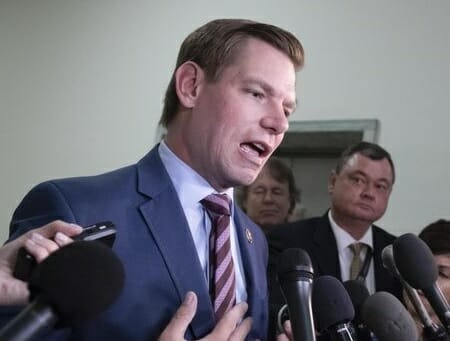 Democrat Eric Swalwell Calls for Confiscation of Semi-Automatic Weapons in US — Nuke Those Who Resist