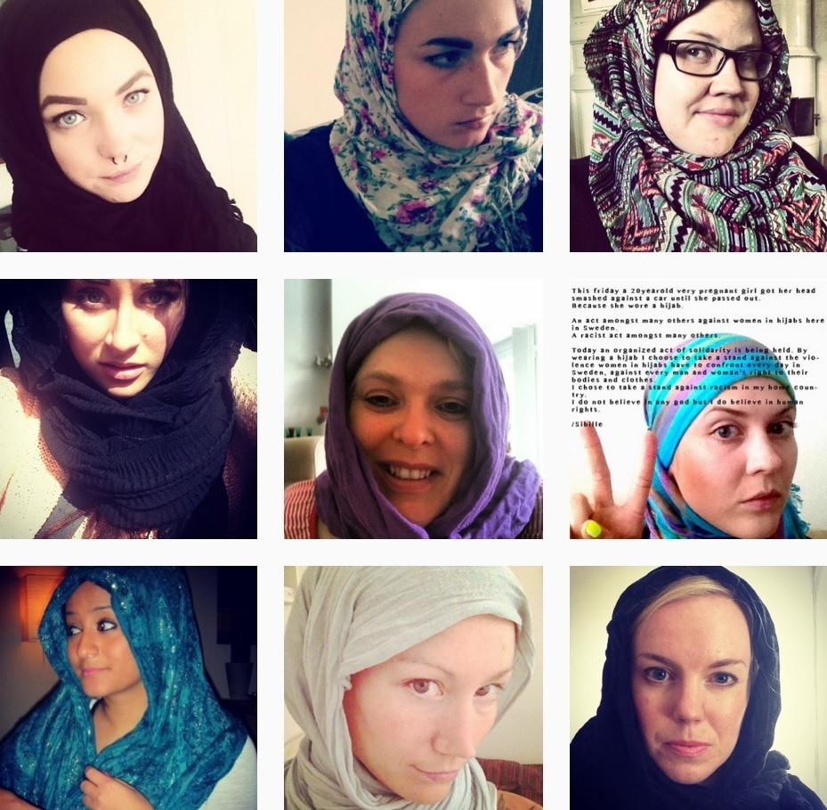 swedish women hijab