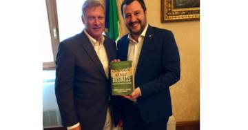 The Trump of Europe: Catching Up with Italy's Matteo Salvini, the New Strongman of Europe