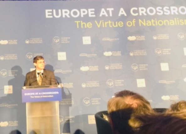photo image Ted Malloch reports: EUROPE AT A CROSSROADS