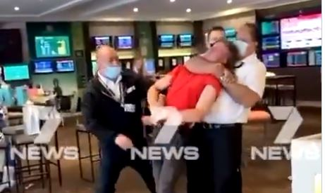 HORROR: Melbourne, Australia Security Official Chokes Teen in Headlock, Slams Him Unconscious on the Floor, Then Drags His Body Out the Door — For Being too Rowdy