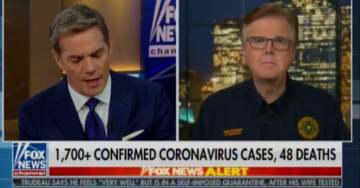 TEXAS Lt. Governor Tells FOX News Lone Star State Could See 300,000 Coronavirus Cases in Coming Month (VIDEO)
