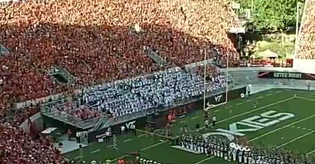 """Virginia Tech to Restrict 'Selfish, Inappropriate, and Embarrassing Student Behavior' at Football Games after """"F*ck Joe Biden"""" Chants Break Out Across the Country"""