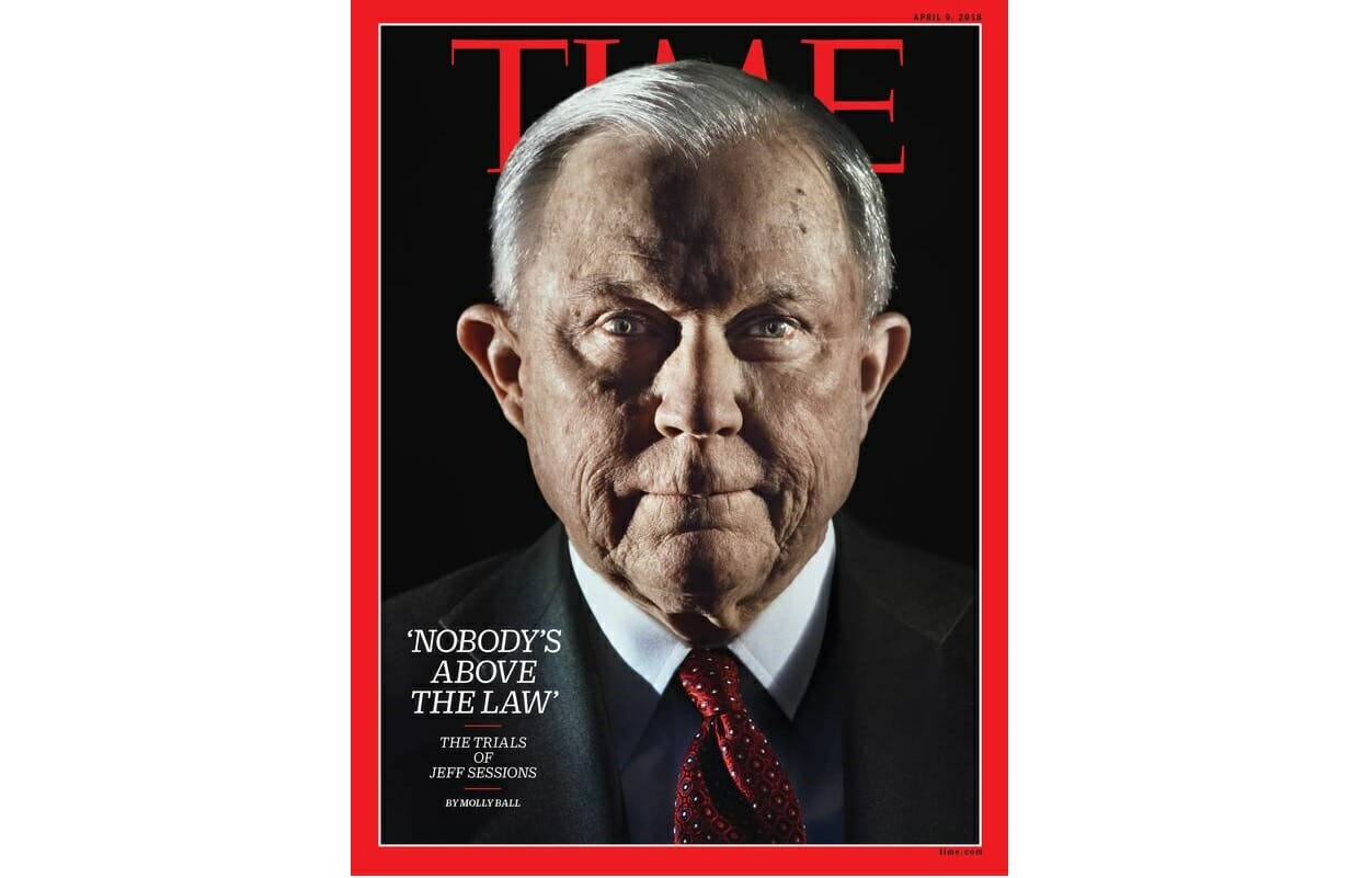 PHOTO ESSAY: Jeff Sessions Is Latest Conservative Depicted as Evil, Shadowy Villain on Liberal Magazine Cover