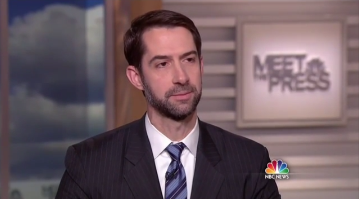 Tom Cotton EMBARRASSES Chuck Todd For Relying Too Much on Anonymous Sources (VIDEO)