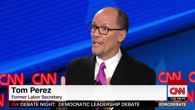 Tom Perez: 'White People NOT Entitled to Protection Under Voting Rights Act'