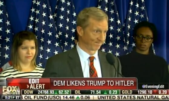 photo image Top Democrat Donor Tom Steyer Compares Trump to Hitler… Then Doubles Down on Comparison (VIDEO)
