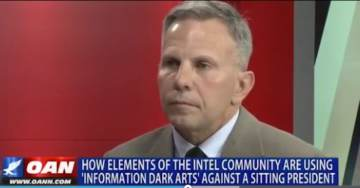 """Intel Expert Tony Shaffer: Government Officials Trained in """"Information Dark Arts"""" Are Using These Techniques Against President Trump"""