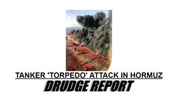 Two Oil Tankers Hit By Torpedoes in the Strait of Hormuz — Trump Domestic Energy Policy Keeps Oil Prices in Check