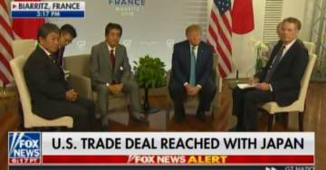 BREAKING: BIG NEWS! President Trump Reaches Historic Trade Deal with Japan (Video)